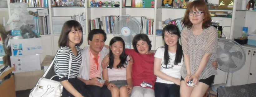 Korean birth family reunion