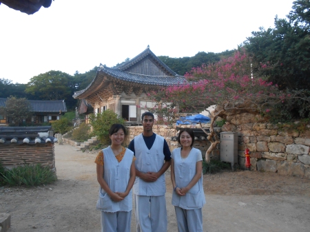 Temple Stay at Mihwangsa in Haenam, South Korea