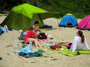 Geoje Island camping