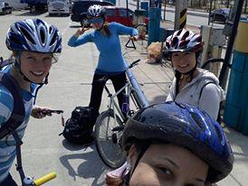 Biking to Damyang