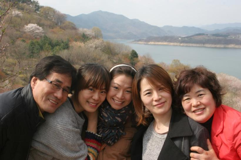 Korean birth family reunion