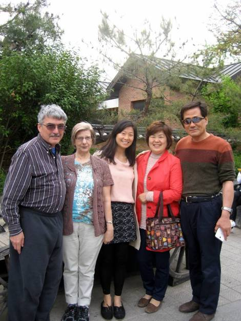 Adoptive and Birth Families met in South Korea