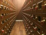 Put your shoes in these lockers and take the key