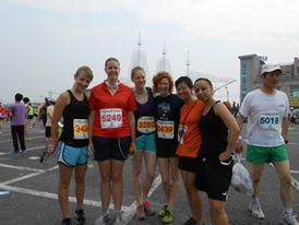 Running races in Korea