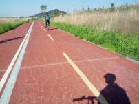 Bike ride to Naju along the Yongsan River