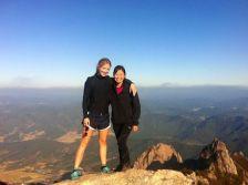 Wochulsan with Helen