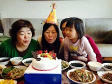 Omma and my birthdays