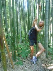 Lovely Meg and bamboo!