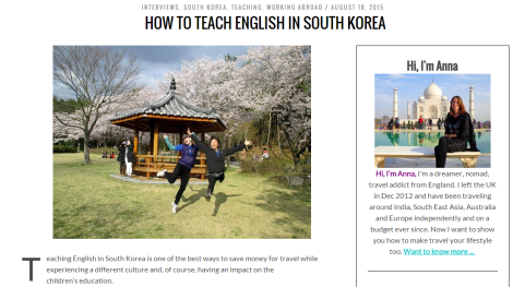 How to Teach English in South Korea