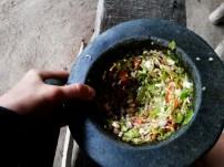 Making chili past nearly every day