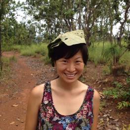 Banana leaf hat in Thailand