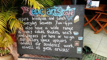 Epic Arts Cafe in Kampot, Cambodia
