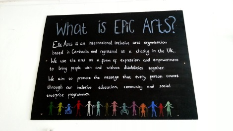 Epic Arts Cafe, Kampot Cambodia
