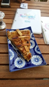 Apple pie at Epic Arts Cafe in Kampot, Cambodia