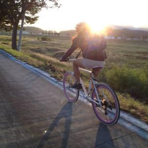 I rode my bike to school every day