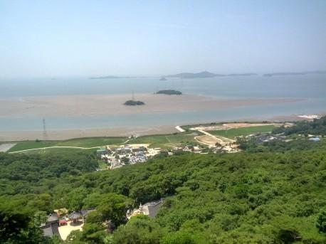 View from Bomun Sa Temple 보문사