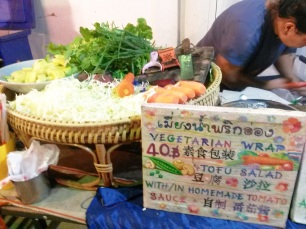Vegetarian wraps pai