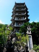 Pagoda in Marble Mountains, Danang