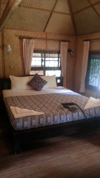 Comfy room at Faasai Resort