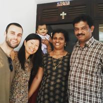 indian christian family