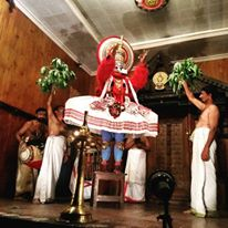 Kathakali performance art in Kerala