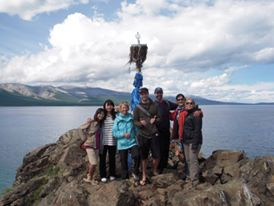 Traveled with these people from around the world in Mongolia