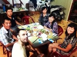 Vietnamese traditional meal