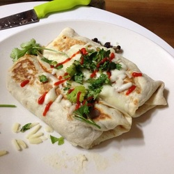 vegetarian burritos