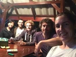 Fellow volunteers from Switzerland & Basque Country, Spain