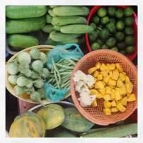 Local market in Nha Trang, Vietnam