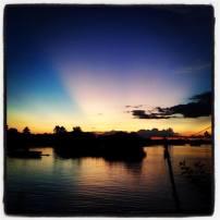 Epic sunsets don det laos