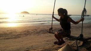 otres beach swing