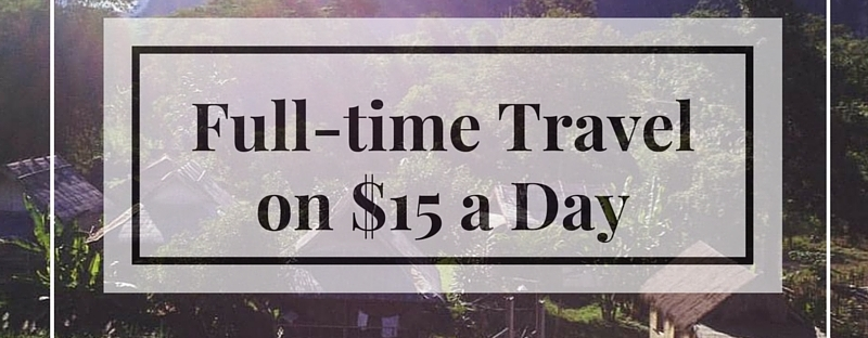 Travel $15 a day