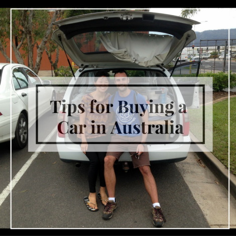 Tips for buying a backpacker car in Australia