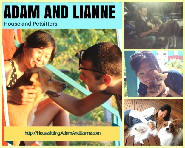 adam and lianne housesitters
