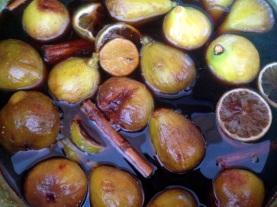 Sue prepared figs in brandy