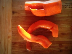 Funky organic juicing carrots