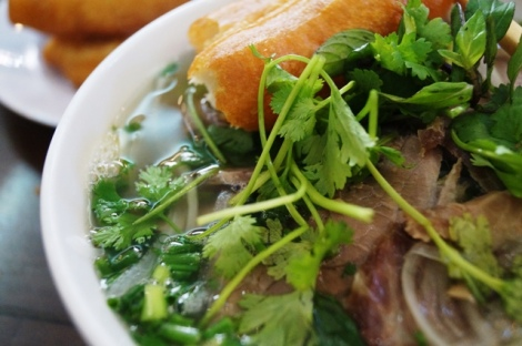 Hanoi best Pho close up