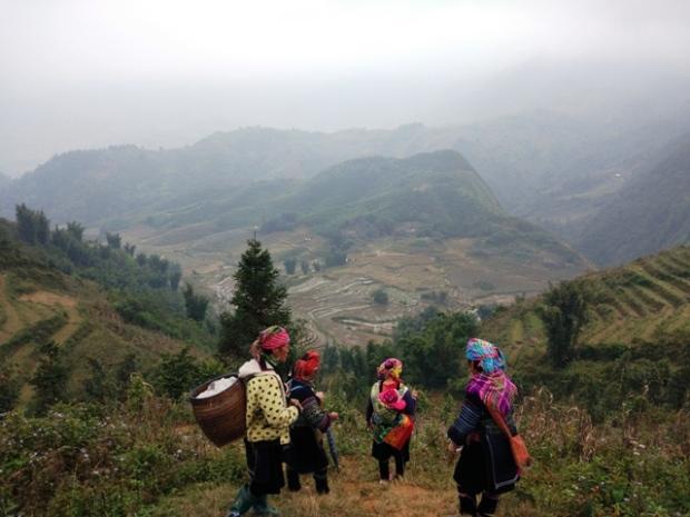 sapa hiking