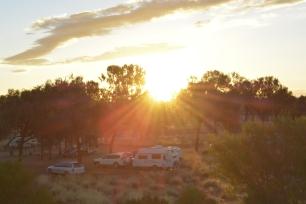 free camping kings canyon australia