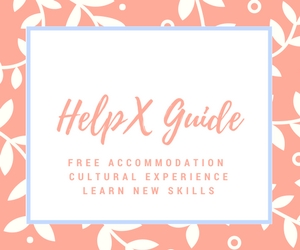 helpx guide free accommodation