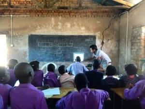 20 Grade 9 Students, 1 Computer