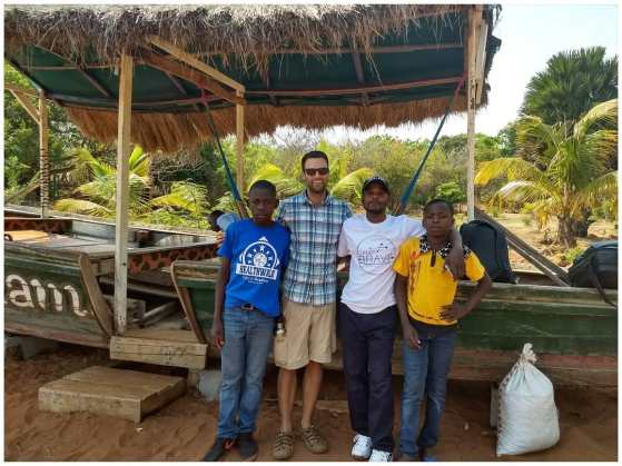 Adam BRAVE camp peace corps zambia