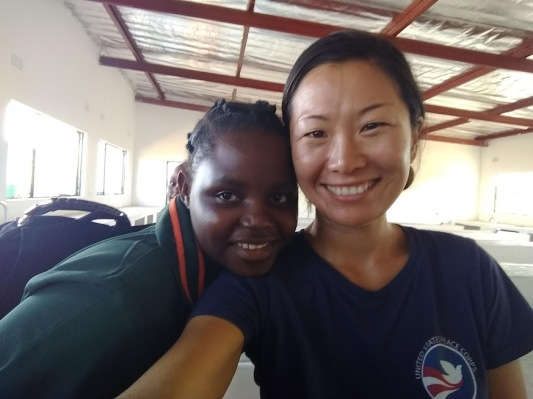 peace corps zambia glow girl