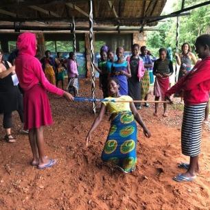 peace corps zambia glow limbo grassroot soccer